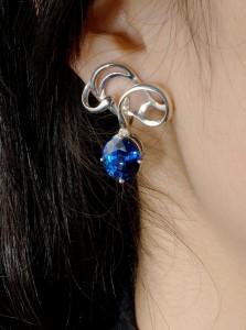 作品8 雲-藍寶耳環DSC 0042s02