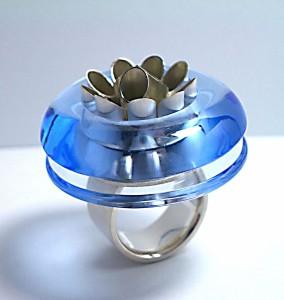 海膽奇想(藍水晶)